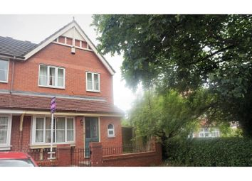 Thumbnail 3 bed semi-detached house for sale in Waterloo Road, Crewe