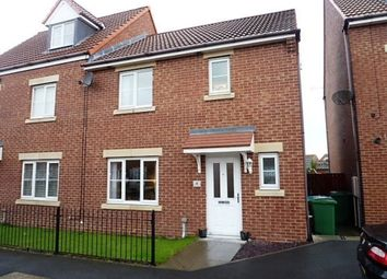 Thumbnail 3 bed semi-detached house for sale in Roxburgh Close, Seaton Delaval, Whitley Bay
