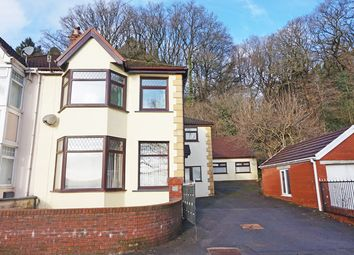 Thumbnail 4 bed semi-detached house for sale in Blackbrook, Treharris
