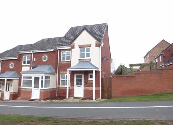 Thumbnail 3 bed town house for sale in Kestrel Lane, Hamilton, Leicester
