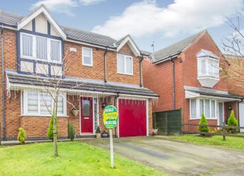 Thumbnail 4 bed detached house for sale in The Poplars, Earl Shilton, Leicester