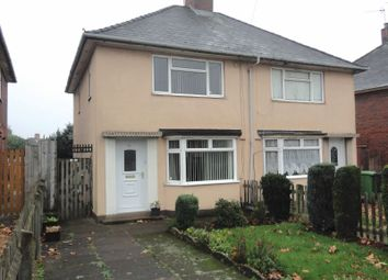 Thumbnail 2 bed semi-detached house for sale in Margaret Road, Wednesbury, West Midlands