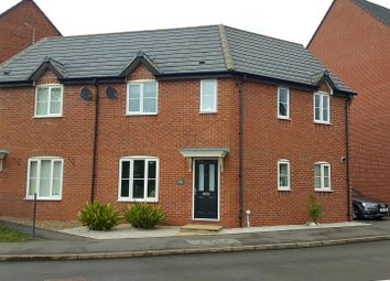 Thumbnail 3 bedroom semi-detached house for sale in Foss Road, Hilton, Derby