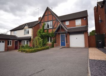 Thumbnail 4 bed detached house to rent in Forest Edge Way, Horninglow, Burton-On-Trent