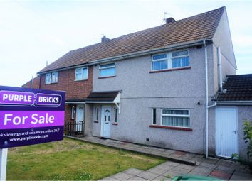 Thumbnail 3 bed semi-detached house for sale in Bardsey Crescent, Cardiff