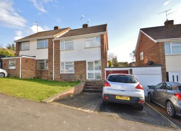 Thumbnail Semi-detached house for sale in Downs View, Burham, Rochester