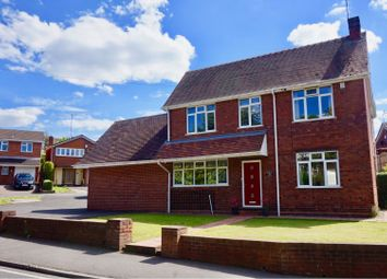 Thumbnail 4 bed detached house for sale in Straits Road, Gornal