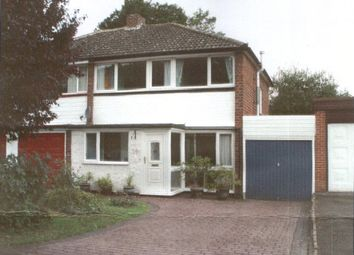 Thumbnail 3 bed semi-detached house to rent in Jerrard Drive, Sutton Coldfield