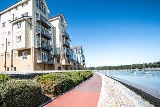 Thumbnail 2 bed flat to rent in Malin House, Rivermead, St. Marys Island, Chatham, Kent