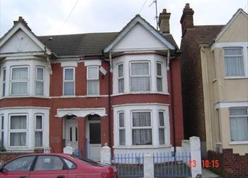 Thumbnail 4 bed end terrace house to rent in Hardwick Road, Bedford