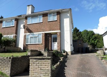 Thumbnail 3 bed semi-detached house to rent in Roundwood Road, High Wycombe