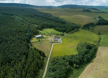 Thumbnail 4 bed equestrian property for sale in Drumblade, Huntly