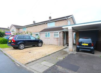 Thumbnail 4 bed semi-detached house for sale in Goold Close, Corston, Bath