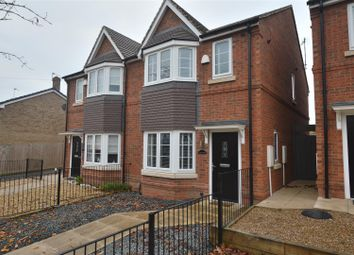 Thumbnail 3 bed semi-detached house for sale in East View, Allestree, Derby