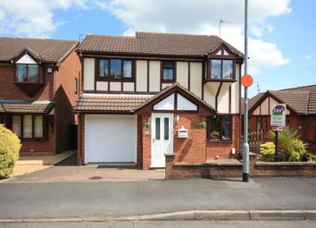 Thumbnail 4 bedroom detached house for sale in Woodruff Close, Packmoor, Stoke-On-Trent