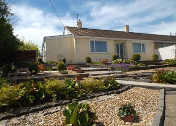 Thumbnail 3 bed semi-detached bungalow for sale in Coach Bach, Tredegar