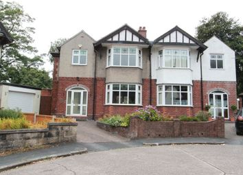 Thumbnail 3 bed semi-detached house for sale in The Grove, Newcastle-Under-Lyme