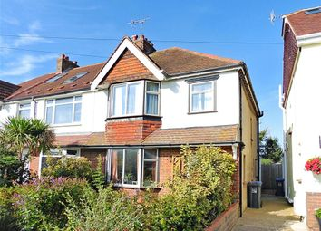 Thumbnail 3 bed end terrace house for sale in Manor Hall Road, Southwick, West Sussex