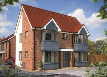 "Thumbnail 3 bed link-detached house for sale in ""The Sheringham"" at Fields Road, Wootton, Bedford"