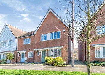 Thumbnail 3 bed semi-detached house for sale in Bells Lane, Hoo, Rochester, Kent