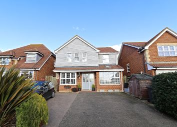 Thumbnail 4 bed detached house for sale in Cherwell Close, Pevensey