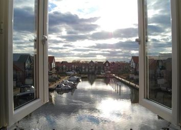 Thumbnail 3 bed flat to rent in Ellisons Quay, Burton Waters, Lincoln