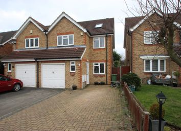 Thumbnail 4 bed semi-detached house for sale in Flint Close, Langdon Hills, Basildon