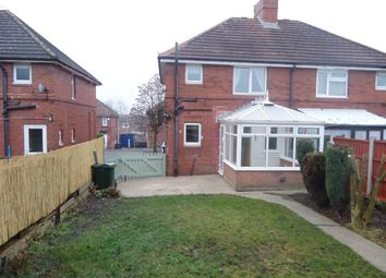 Thumbnail 2 bed semi-detached house to rent in Rockley Avenue, Birdwell, Barnsley