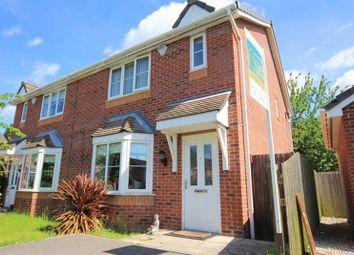 Thumbnail 3 bed semi-detached house for sale in Oak Grange, Halewood, Liverpool