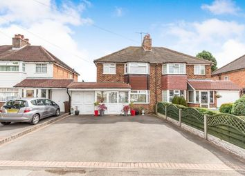 Thumbnail 3 bedroom semi-detached house for sale in Damson Lane, Solihull, West Midlands