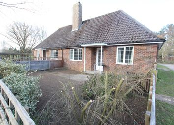 Thumbnail 2 bed bungalow to rent in Weybank, Wisley, Woking