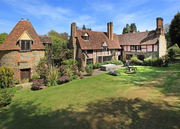 Thumbnail 9 bed detached house for sale in Hosey Common Road, Westerham, Kent