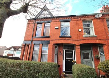 Thumbnail 4 bed end terrace house for sale in Dulverton Road, Aigburth, Liverpool, Merseyside