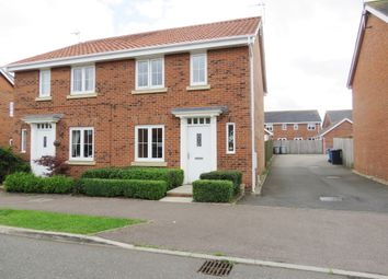 Thumbnail 3 bed semi-detached house for sale in Thistle Drive, Desborough, Kettering