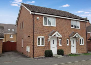 Thumbnail 2 bed semi-detached house for sale in Dragoons Close, Thatcham