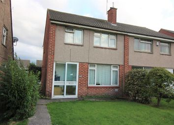 Thumbnail 3 bed semi-detached house for sale in Wrington Close, Little Stoke