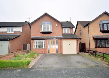 Thumbnail 4 bedroom detached house for sale in Lindisfarne Drive, Loughborough