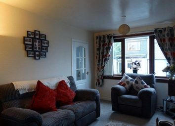 Thumbnail 2 bed end terrace house to rent in High Road, Hightae, Lockerbie