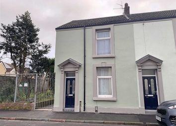 Thumbnail 2 bedroom end terrace house for sale in Rodney Street, Swansea