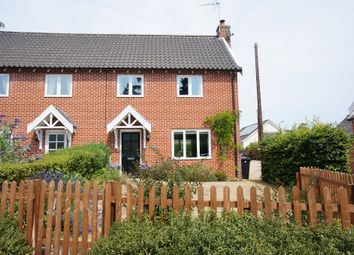 Thumbnail Semi-detached house for sale in Church Road, Earsham, Bungay
