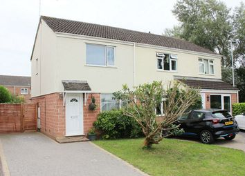 Thumbnail 2 bed semi-detached house for sale in Mallory Close, Staplegrove, Taunton, Somerset