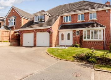 Thumbnail 5 bed detached house for sale in Stonecrop Road, Hamilton, Leicester