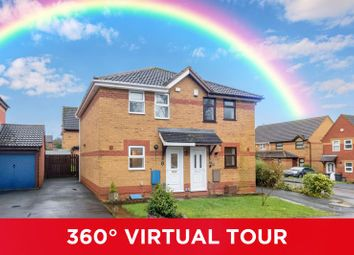 Thumbnail 2 bed semi-detached house for sale in Knowle Close, Rednal
