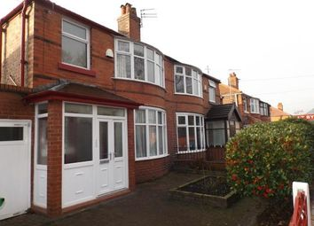 Thumbnail 3 bedroom semi-detached house for sale in Victoria Road, Fallowfield, Manchester, Greater Manchester