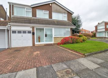 4 bed detached house for sale in Bourtree Close, Wallsend NE28