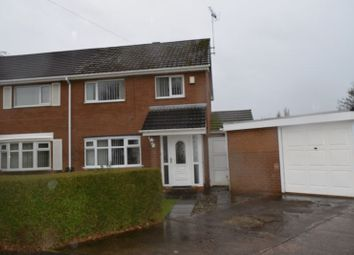 Thumbnail 3 bed semi-detached house for sale in Willow Drive, Blacon, Chester