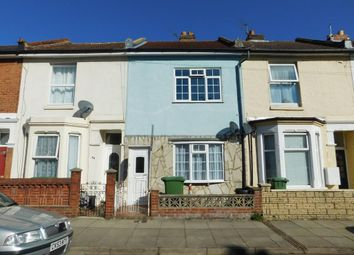 Thumbnail 2 bed terraced house for sale in Essex Road, Southsea