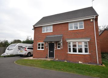 Thumbnail 4 bed detached house for sale in Thorpe Gardens, Littlethorpe, Leicester