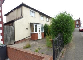 Thumbnail 3 bed semi-detached house for sale in Whitmore Street, Walsall, West Midlands