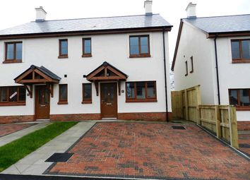 Thumbnail 3 bed semi-detached house for sale in Plot 3, Phase 2, The Roch, Ashford Park, Crundale